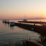 Gardasee am Abend, Ruhe