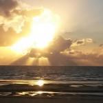 Sonnenuntergang St Peter Ording Sept 2015